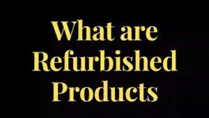 refurbished-products